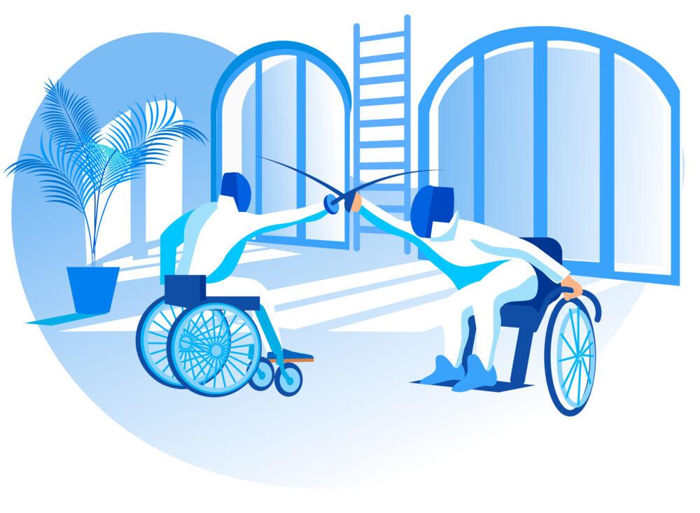 東京2020パラリンピック「車いすフェンシング」の競技解説
